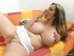 Constance devil enjoys...
