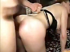 Audrey gets her holes ... video
