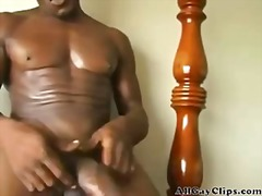 masturbation, cock, ebony, solo, gay,