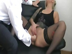 Fisting my bitch boss ... preview