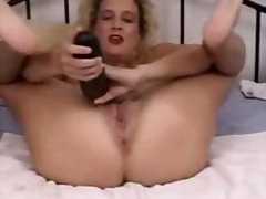 Blonde mature amateur extreme huge to...