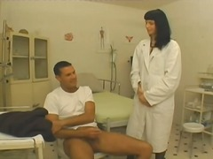 Speculum does her ass and a cock fucks it too
