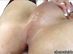 aShemaleTube - Naughty busty tranny k...