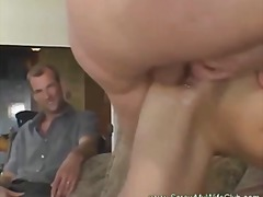 Hotwife screws stranger husband loves it