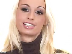 Busty blonde erica fon... video