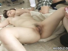 Cute asian chick nailed by cock here