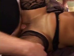 Sweet tits gets her pu... video