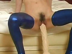 Monster dildo fucked s... video
