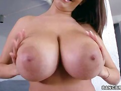 Gorgeous dark haired h... video