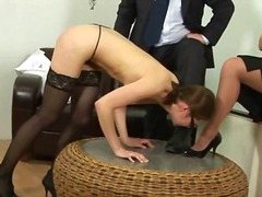 secretary, spank, punishment