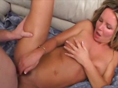 tits, blonde, oral,