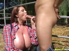 Busty and arousing redhead... - 08:02