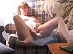 Private Home Clips - Golden-Haired Voyeur Masterbation