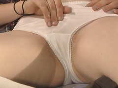Sweet babe gets her pu...