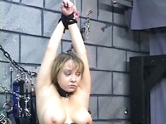 Thumb: Chubby bdsm slut gets ...