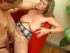 cumshot, natural boobs, big cock