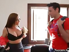 Busty teacher diamond ... video