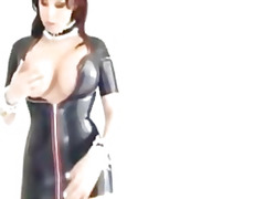 fetish, insertion, maid, slave
