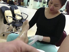 Xhamster Movie:Pedicure delight