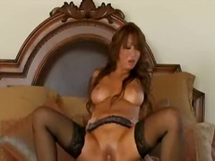 Big tit asian bottle brunette wearing...