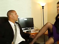 Naughty boss dani daniels fucks her office assistant