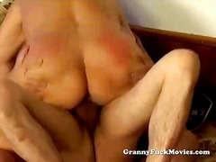 mature, older, granny, grandma, threesome, milf