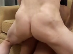 big ass, natural boobs, anal, gape, big boobs, rimjob, mature, boobs, dp, big cock