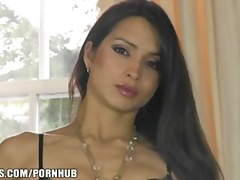 Gorgeous french brunet... video