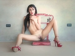 Pink high heels and ma... video