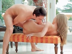 Alpha Porno Movie:Black stockings and heels on h...