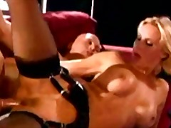 Strapon femdom and hardcore sex