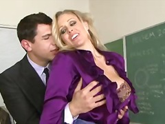 Milf teacher juli...