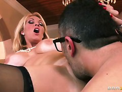 Sexy ass blonde babe charl... - 08:00