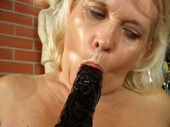 Xhamster - Lesbian grannies licking each other (long version)