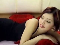 hot asian babe solo video