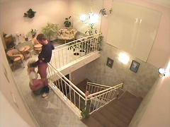 Voyeur Hit - Lusty couple throatfuck
