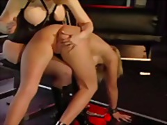 femdom, redhead, toys, latex, boobs, blonde, bdsm, toy, big boobs, milf, lesbian