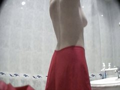 Voyeur Hit Movie:Girl washing in spy xxx