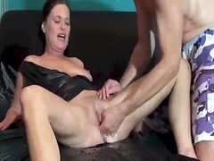 fetish, squirting, latex