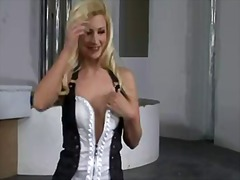 Pretty blonde jessie volt ... - 07:02