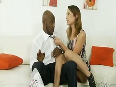 amber rayne,  interracial, shaved,