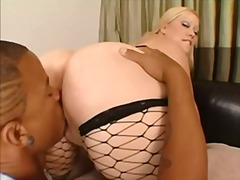 fat, bbc, heels, black, stockings