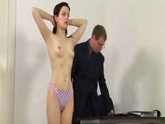 Spanked by her teacher video