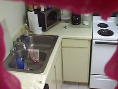 Thumb: Hot voyeur cooking