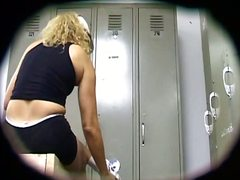 spy, ass, voyeur, thong, blonde, lingerie