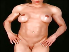Alexisshinynudemuscles