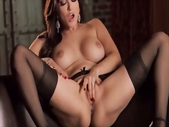 DrTuber Movie:Brunette with big tits on brow...