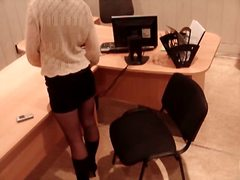 Voyeur Hit Movie:Girl in stockings voyeur mastu...