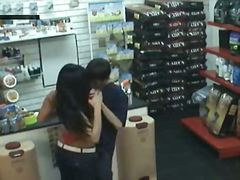 Hidden camera in store
