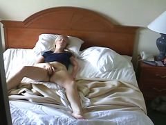 bedroom, voyeur, candid, masturbation, blonde, sleep